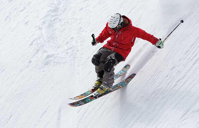 Esquí deporte de riesgo