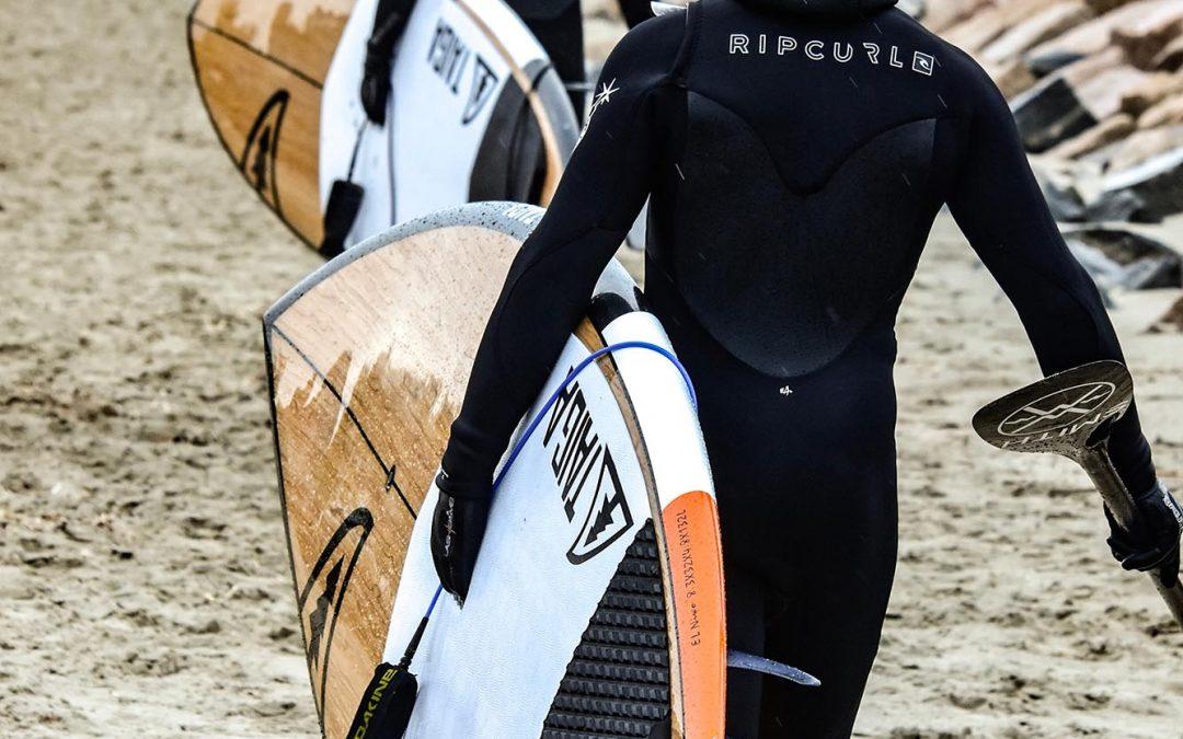 Pautas para un rescate con tabla de surf