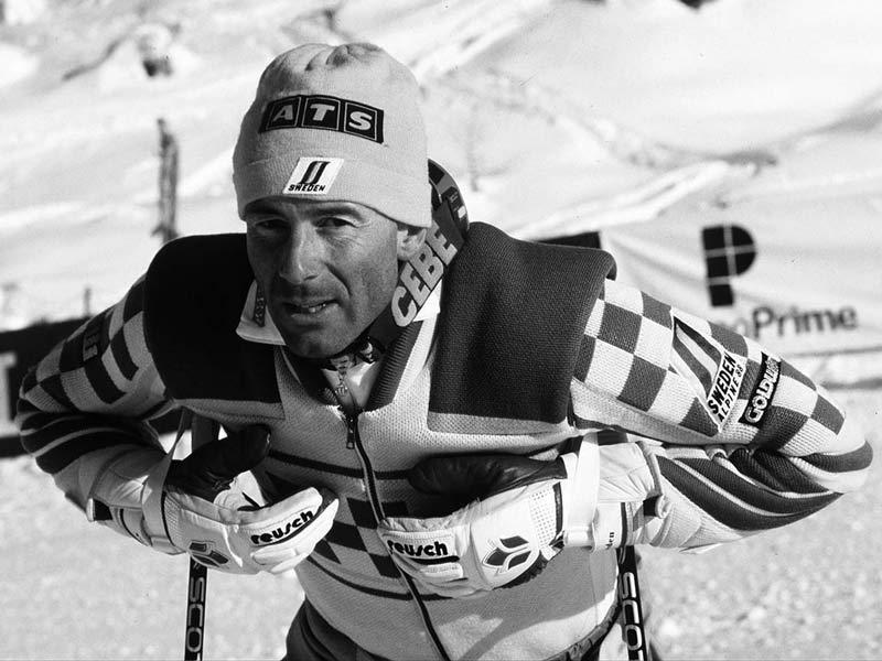 Ingemar Stenmark el mejor esquiador de la historia