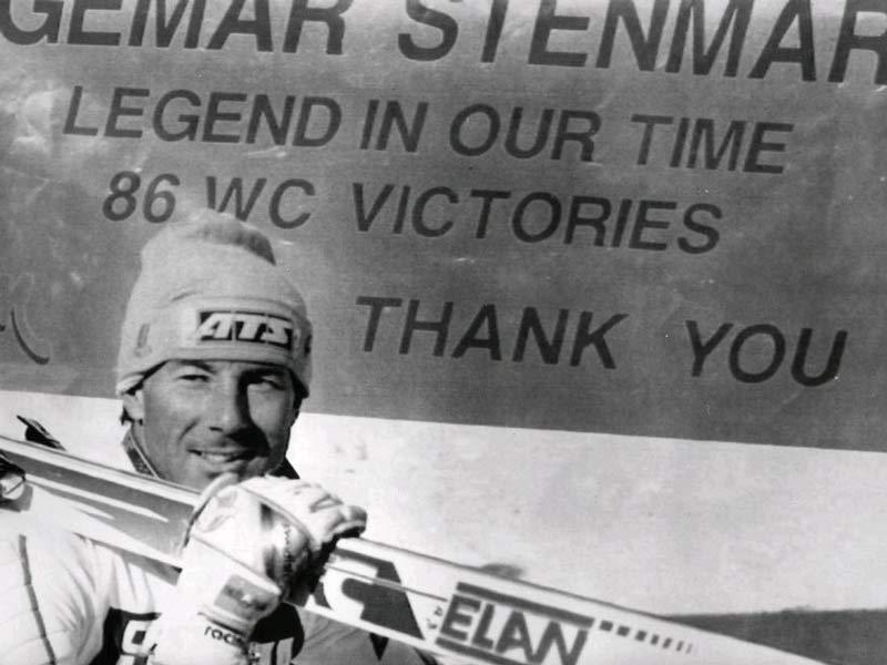 Ingemar Stenmark consiguió 86 victorias en la Copa del Mundo