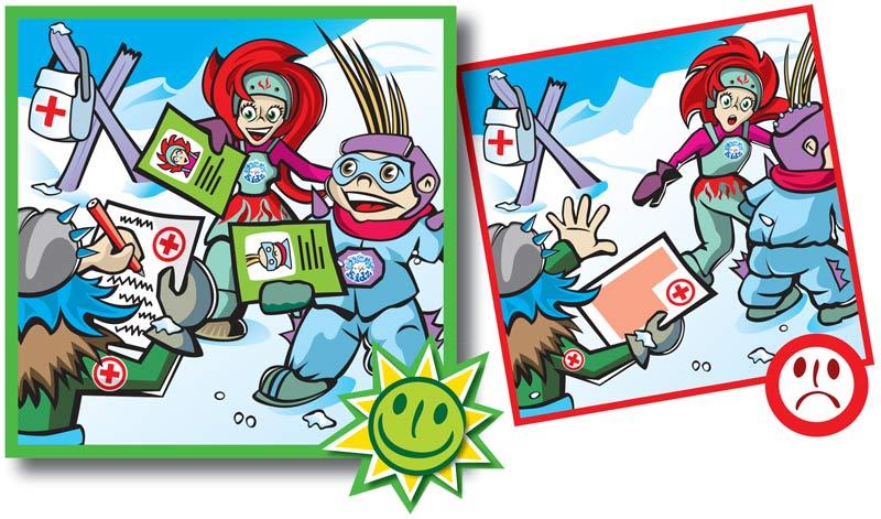 Normas de conducta en pistas de esquí-10