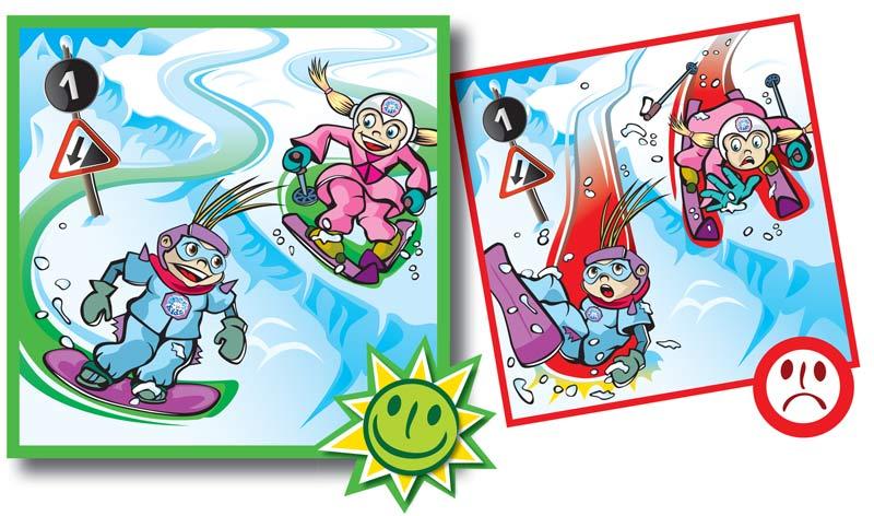 Normas de conducta en pistas de esquí-2