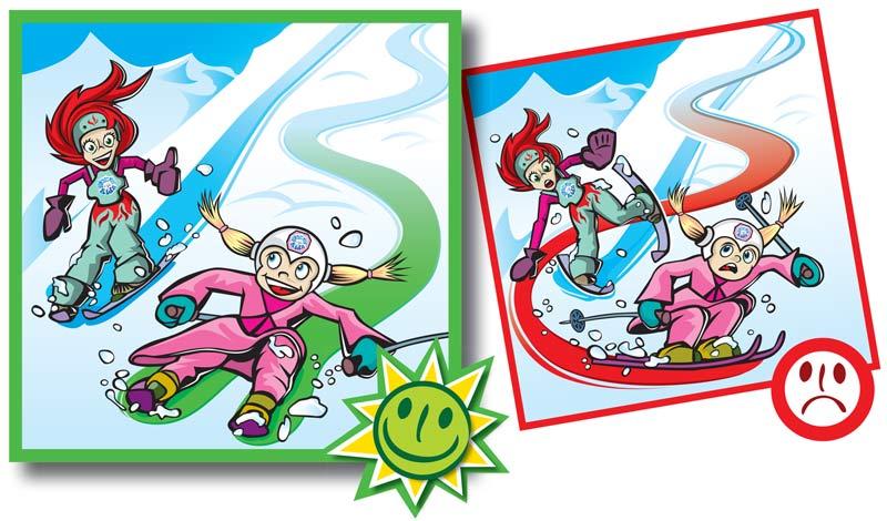 Normas de conducta en pistas de esquí-3