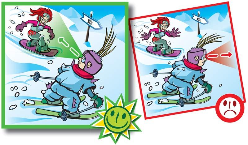 Normas de conducta en pistas de esquí-5