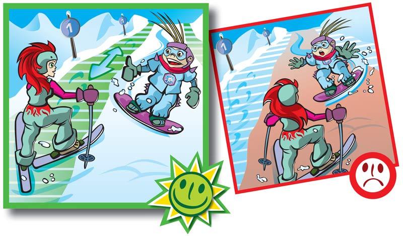 Normas de conducta en pistas de esquí-7