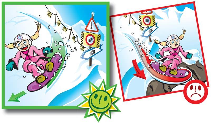 Normas de conducta en pistas de esquí-8