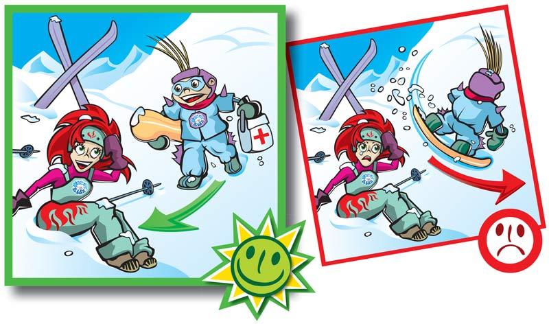 Normas de conducta en pistas de esquí-9