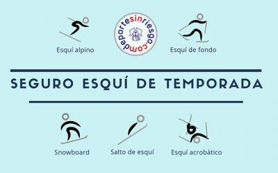 Mejor seguro esquí de temporada