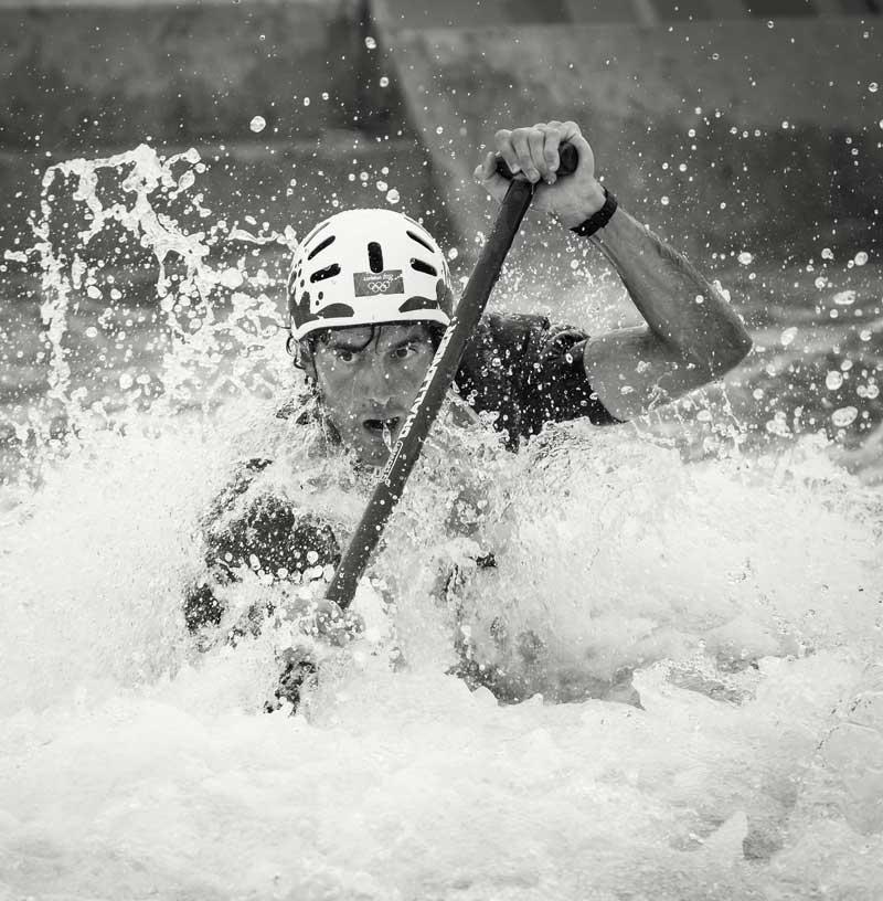 Aguas bravas deporte de riesgo
