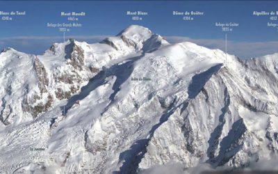 Mont Blanc mueve ficha contra la masificación: hasta 300.000 euros por acampar
