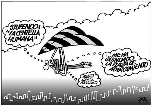Deportes de riesgo clásicos adaptados: ala delta urbano
