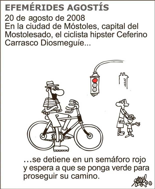 Deportes de riesgo clásicos: ciclismo urbano