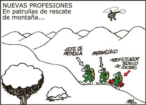 Nuevas profesiones en deportes de riesgo: rescate de montaña
