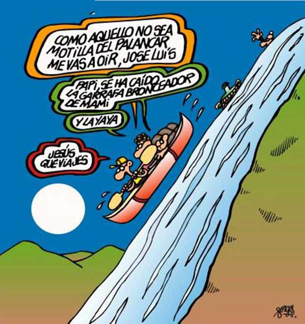 Deportes de riesgo clásicos: piragüismo